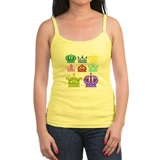 Colored Crown Silhouette Collection Tank Top