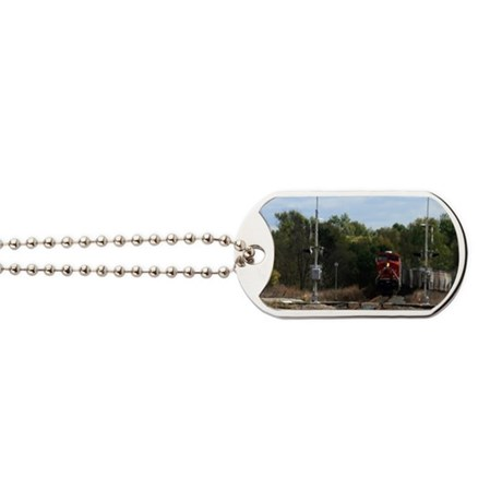 Here Comes The Train!-patch Dog Tags