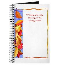 Card interior fall Journal