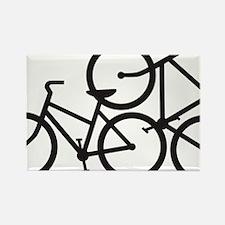 Bike Love Rectangle Magnet