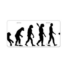 Evolution Figure skating Aluminum License Plate