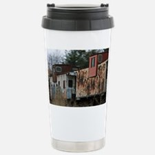Two Cabooses Stainless Steel Travel Mug