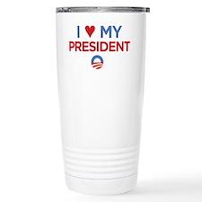 I Heart my President Travel Mug