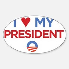 I Heart my President Decal