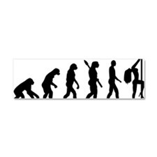 Evolution sexy woman Car Magnet 10 x 3