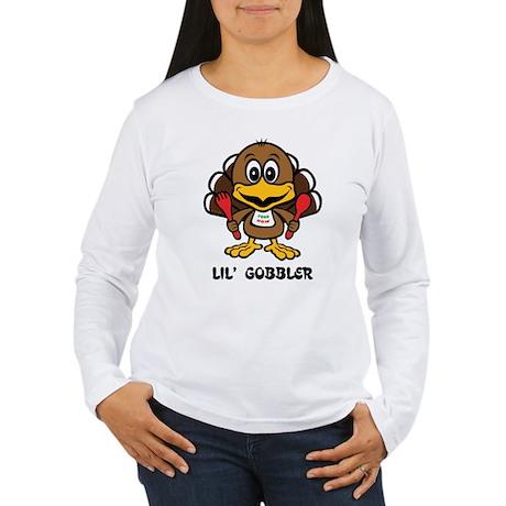 Lil' Gobbler - Turkey Women's Long Sleeve T-Shirt