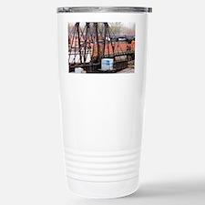 Turn Table Train-cp Travel Mug