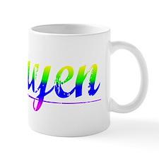 Nguyen, Rainbow, Mug