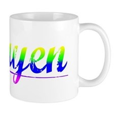 Nguyen, Rainbow, Small Mug