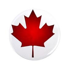 """Maple Leaf Grunge 3.5"""" Button"""