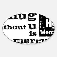 Hug Sticker (Oval)