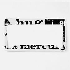 Hug License Plate Holder