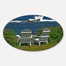 Surfside Oceanfront View Decal