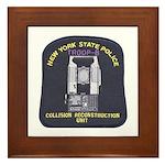 NYSP Collision Investigation Framed Tile