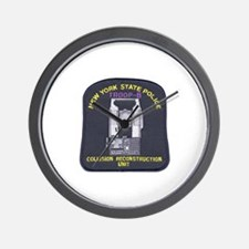 NYSP Collision Investigation Wall Clock