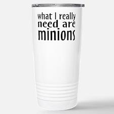 minionsrectangle Stainless Steel Travel Mug