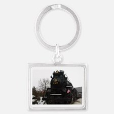 Steam Engine Christmas - Cover Landscape Keychain