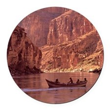 Grand Canyon Dory at Sunrise Round Car Magnet