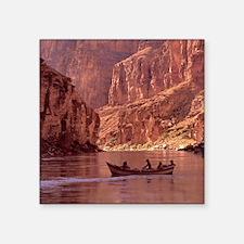 "Grand Canyon Dory at Sunris Square Sticker 3"" x 3"""