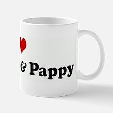 I Love Grammy & Pappy Mug
