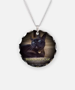 Burmese Cat (FancieR) Necklace