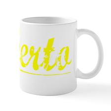Roberto, Yellow Small Mug
