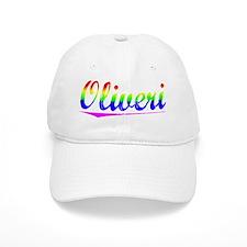 Oliveri, Rainbow, Baseball Cap