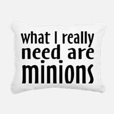 minions Rectangular Canvas Pillow