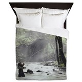 Fly fishing Luxe Full/Queen Duvet Cover