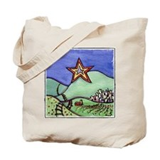 Star City with frame Tote Bag
