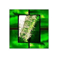 "nuclear Square Sticker 3"" x 3"""