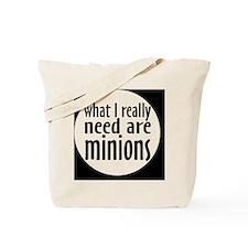 minionsbutton Tote Bag