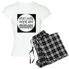 minionsbutton Pajamas