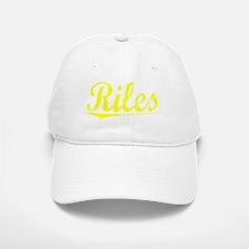 Riles, Yellow Baseball Baseball Cap