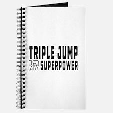 Triple Jump Is My Superpower Journal