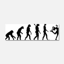 Evolution Figure skating Car Magnet 10 x 3