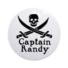 Captain Randy Ornament (Round)
