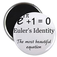 Beautiful Eulers Identity Magnet