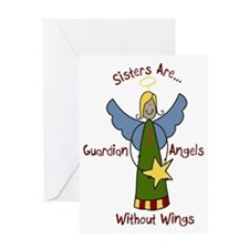 Sister Angel Greeting Card