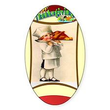 Turkey chef Decal