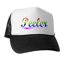Peeler, Rainbow, Trucker Hat