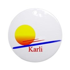 Karli Ornament (Round)