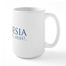 romnesia - believe in huh - definition  Mug