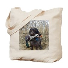 German wirehaired pointer calendar Tote Bag