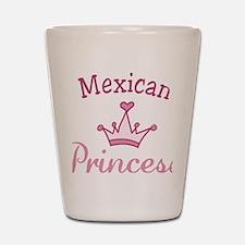 Mexican Princess Shot Glass