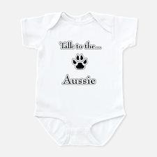 Aussie Talk Infant Bodysuit