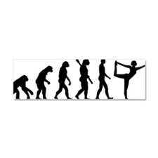 Evolution Yoga Car Magnet 10 x 3