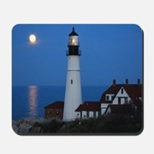 Super Moons Lighthouse View Mousepad