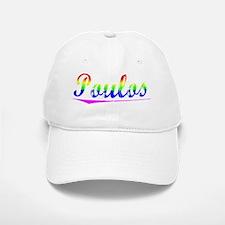 Poulos, Rainbow, Baseball Baseball Cap