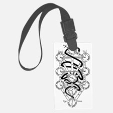 Serpent of Wisdom Luggage Tag